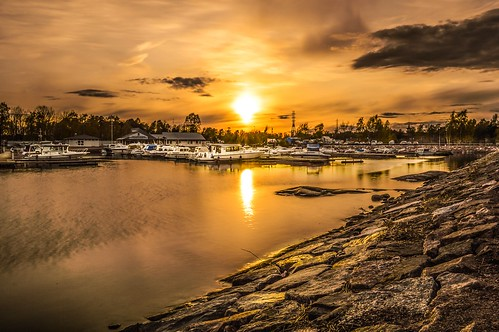 travel sunset port finland photography helsinki nikond3200 nd400 psexpress ipadedition