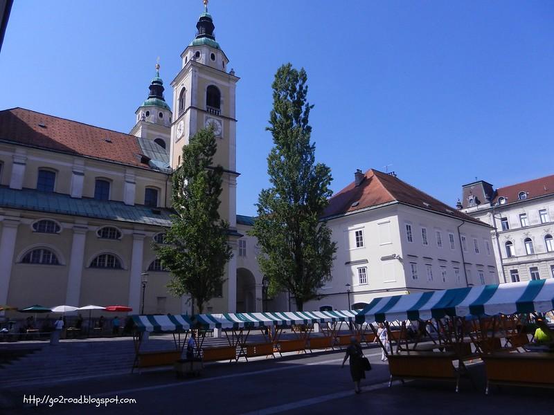 Рынок в Любляне
