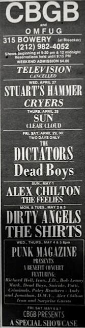 CBGB 4-27-77