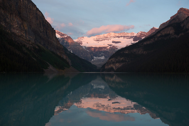 Morning of LakeLouise