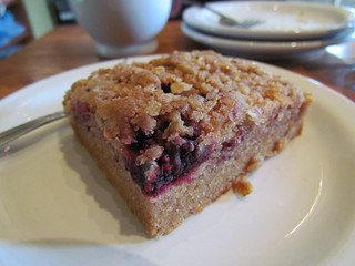 Marionberry Coffee Cake at Back To Eden