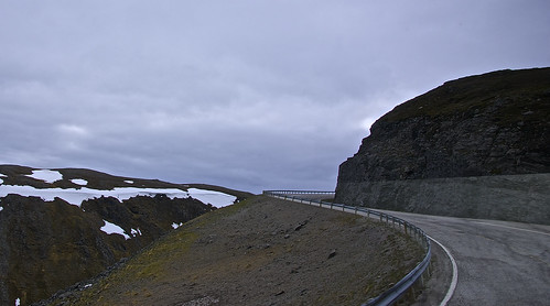 Scenic drive to the North Cape