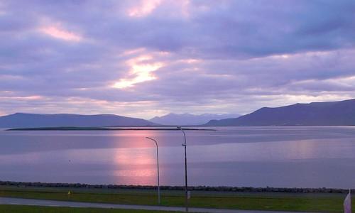 sea sun night iceland nap 101 reykjavík ísland tenger izland éjszaka betweensunriseandsunset
