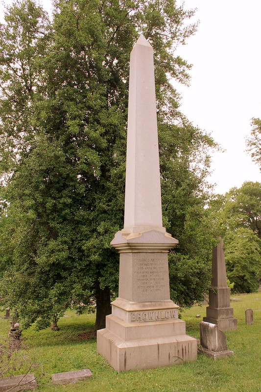 Burial Site of TN Governor William G. Brownlow