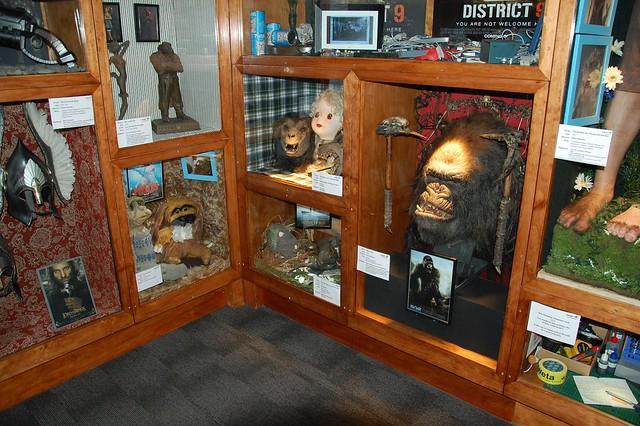 Máscaras, armas, etc.. utilizadas en otras películas en las que Weta ha participado