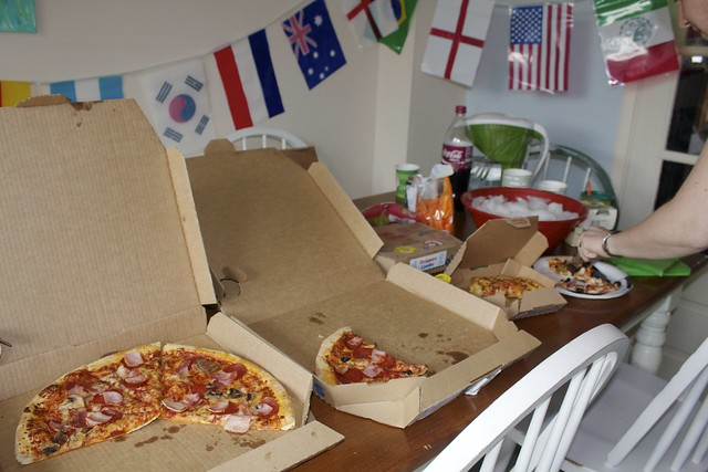 dominos party