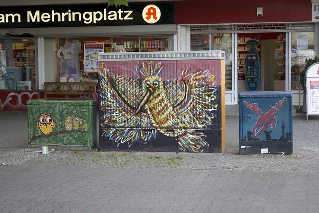 Birds at Mehringplatz