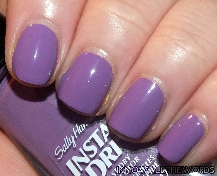 Sally Hansen Insta-Dri Kaleidoscope Collection Purpelling(9)