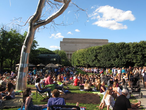 Summer Jazz in the Sculpture Garden