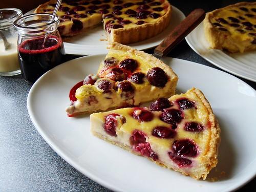 Cherry Clafoutis & Tarta de Cerezas