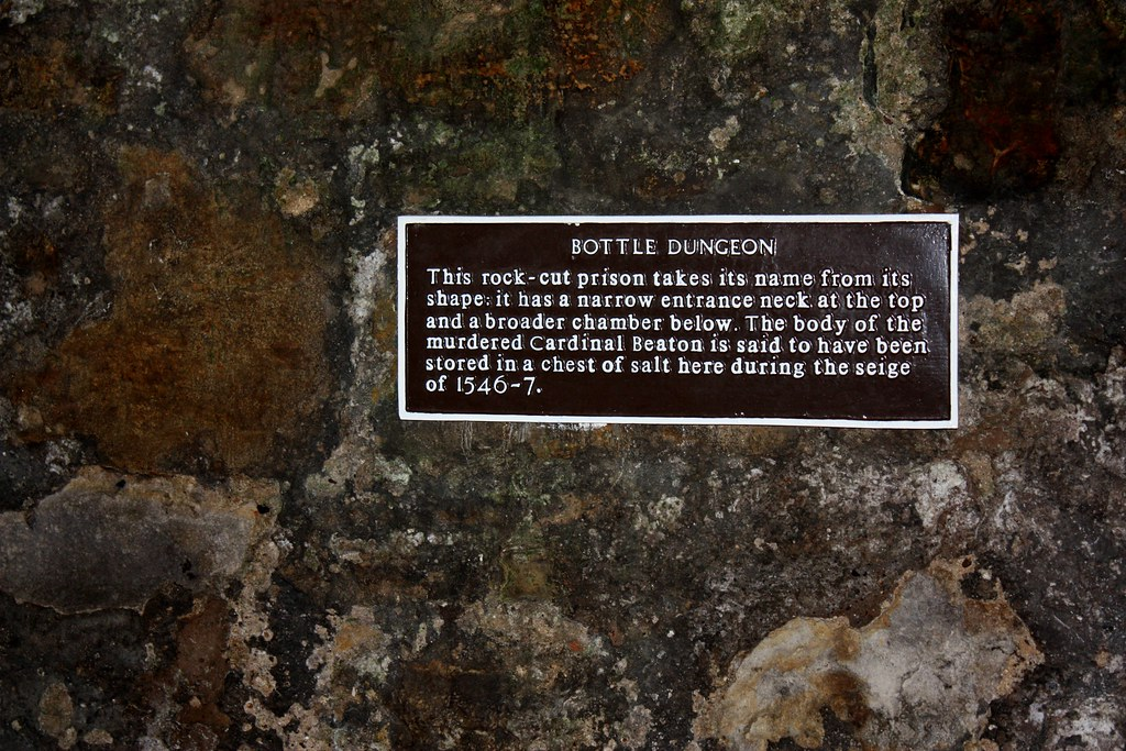 St Andrews Castle Bottle Dungeon
