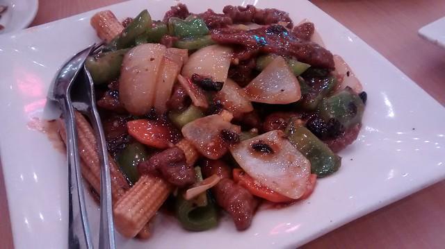 Beef with Blackbean sauce