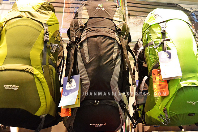 DEUTER BACKPACKS.