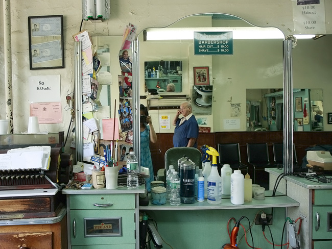 Tony's Barbershop, Bay Ridge, Brooklyn
