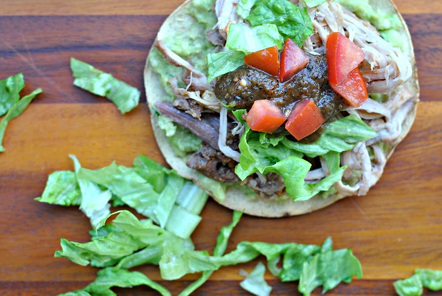 Avocado and Carnitas Tostadas 3