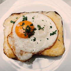 The croque madame from @republiquela. #delicious #latergram #losangeles