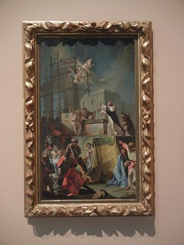 DSCN1231 _ A Miracle of Saint Dominic, c 1750, Blanton Museum, Austin