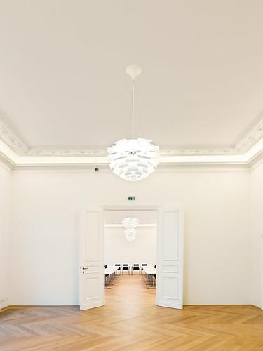 Blick Cubzimmer Richtung kleiner Sitzungssaal
