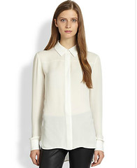vince ivory blouse