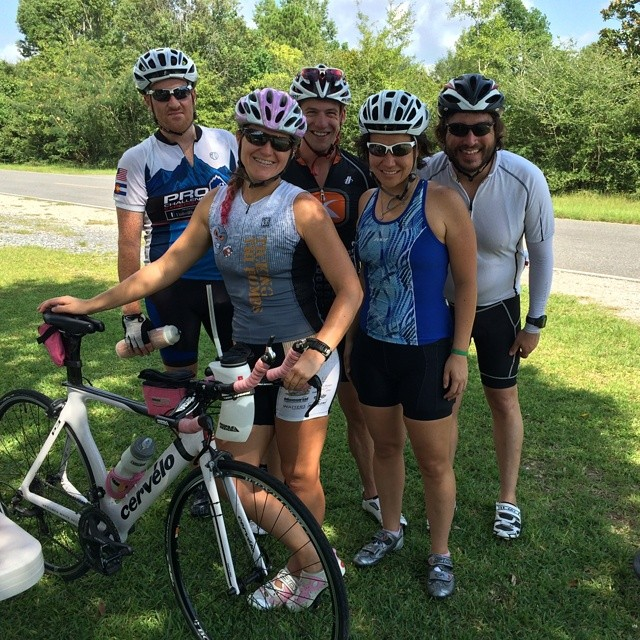 70 miles today. Good miles with AMAZING friends!! #ilovemyfriends #ilovetoridemybicycle #triathletesarecrazy #triouradventure #imaz