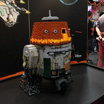 SDCC 2014 LEGO Chopper