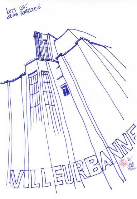 Villeurbanne-Le-Rize---gratte-ciels-contre-plongee