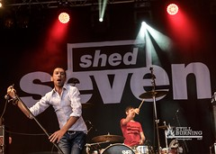 Shed Seven - Wickerman Festival 2014