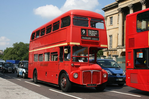 Tower Transit RM1218 on Route 9H, Hyde Park Corner - Last Day of Routemasters on Route 9H