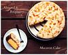 Almond Raspberry Macaron Cake