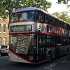 A silver one #london #Routemaster #bus