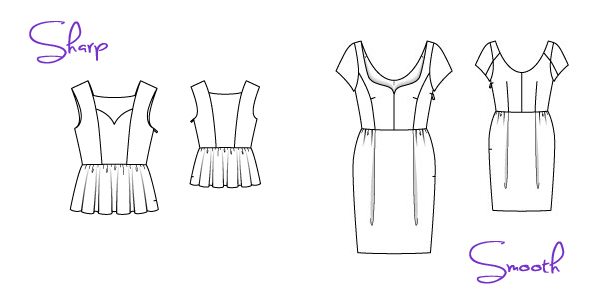 types of sweetheart necklines