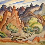 Collection of Tracy & Sushe Felix; Tabor Utley_ watercolor_ 13 1_2_x19__ c.1940 -