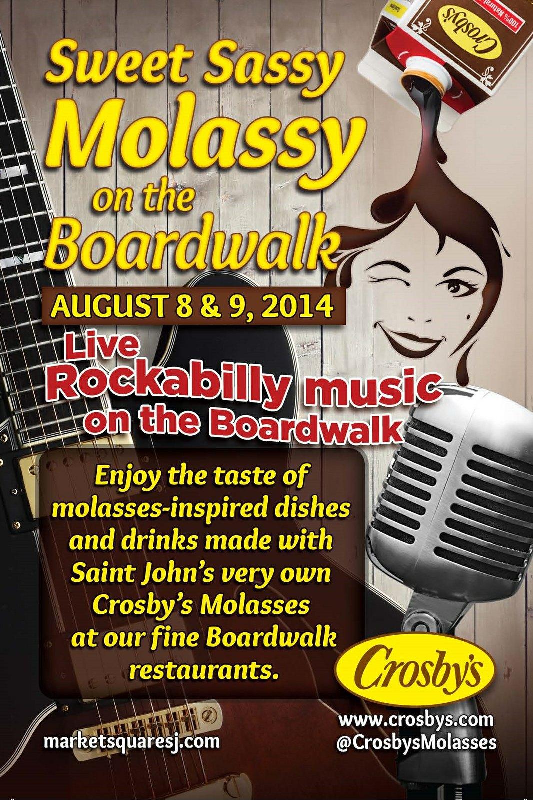 Crosbys Sweet Sassy Molassy 4x6 PRINT