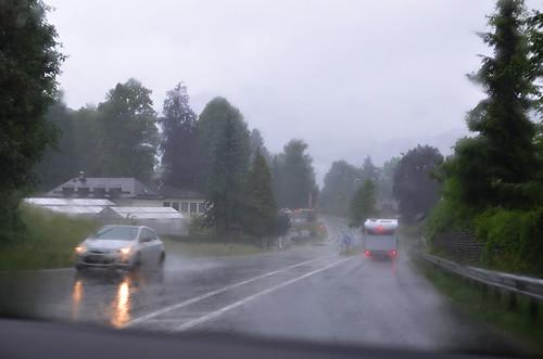 rain in Austria