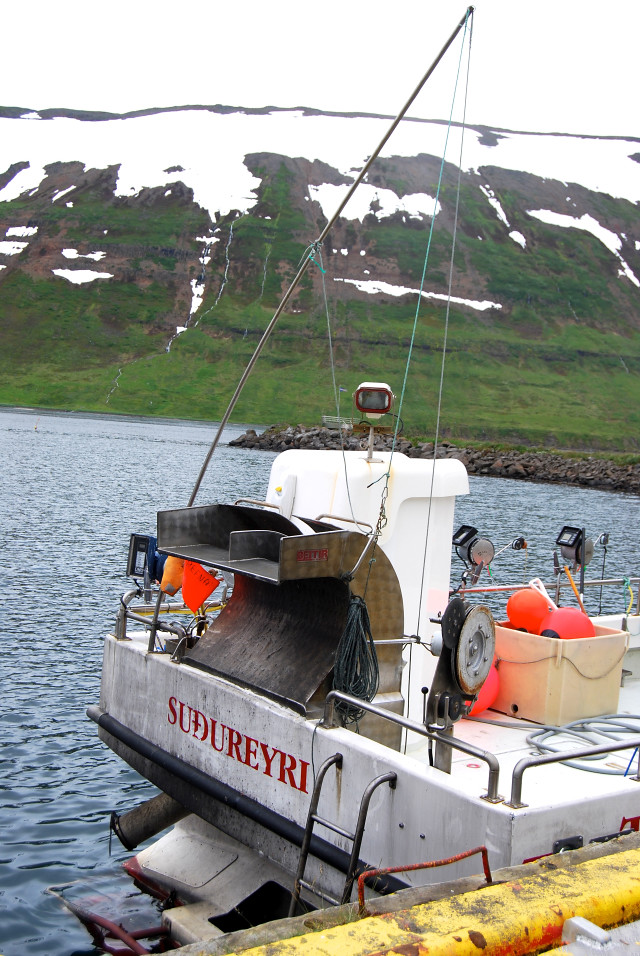 Line Fishing Boat in Sudureyri, Iceland