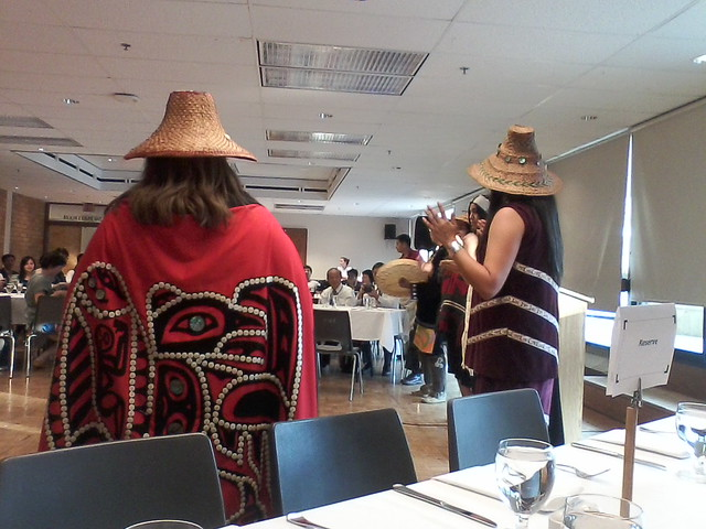 Indigenous Welcome at ICCSE 2014