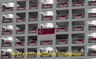 Happy 49th Birthday, Singapore!