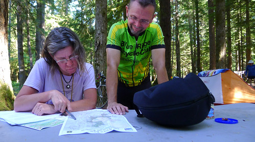 Heather and Greg with maps Washington Cascades_0388 copy