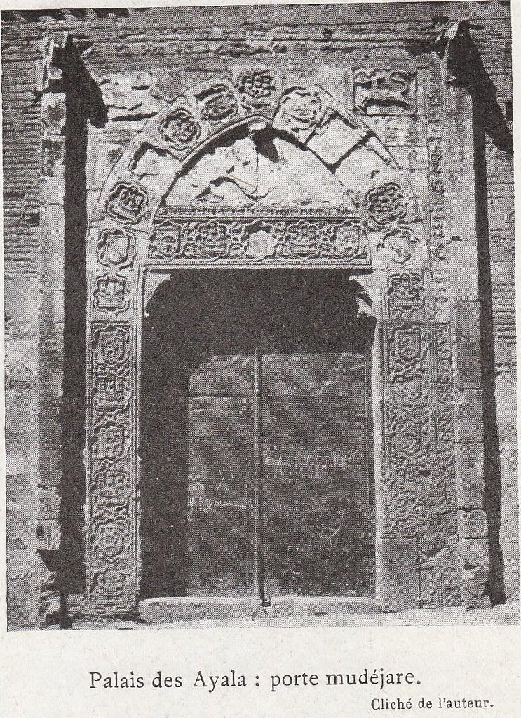 Palacio de Inés de Ayala a comienzos del siglo XX. Fotografía de Élie Lambert publicada en su libro Les Villes d´Art Célebres: Tolède (1925)