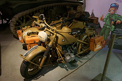 BMW motorcycle with side car
