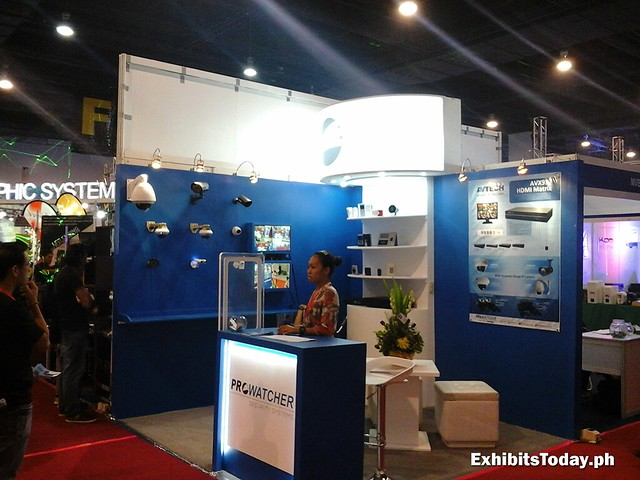 Prowatcher Exhibit Booth