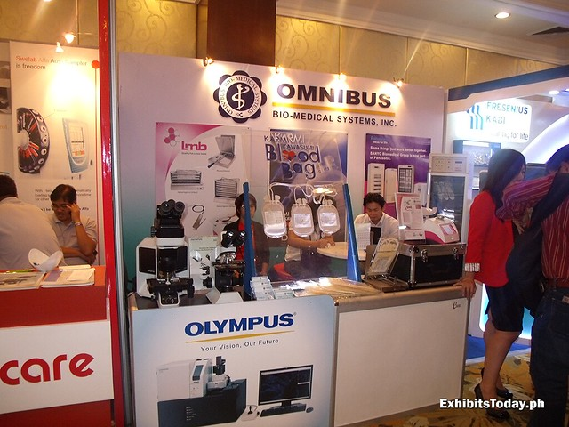 Omnibus Exhibit Booth