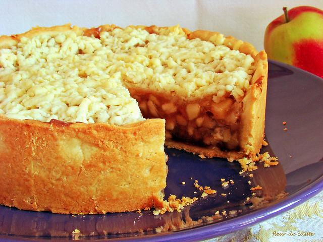 австралийский яблочный пирог 2