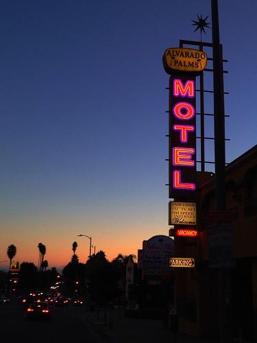 california vintage losangeles motel alvarado vintagesign vintagesigns signporn alvaradopalms signgeeks