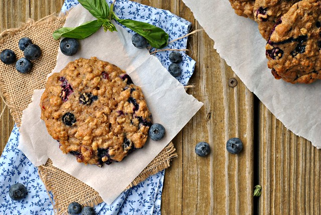 Blueberry, Cranberry, and Walnut Breakfast Cookies 2