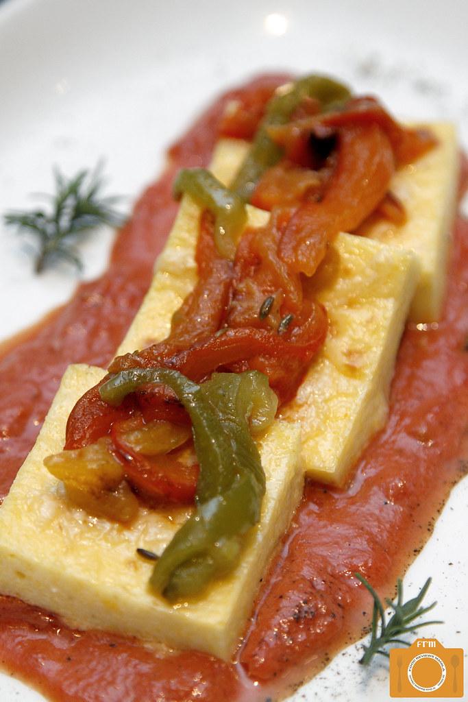 Sage Grilled Polenta