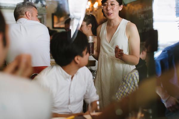 Celine Kim Photography intimate High Park Parkdale restaurant wedding Toronto wedding EM-62