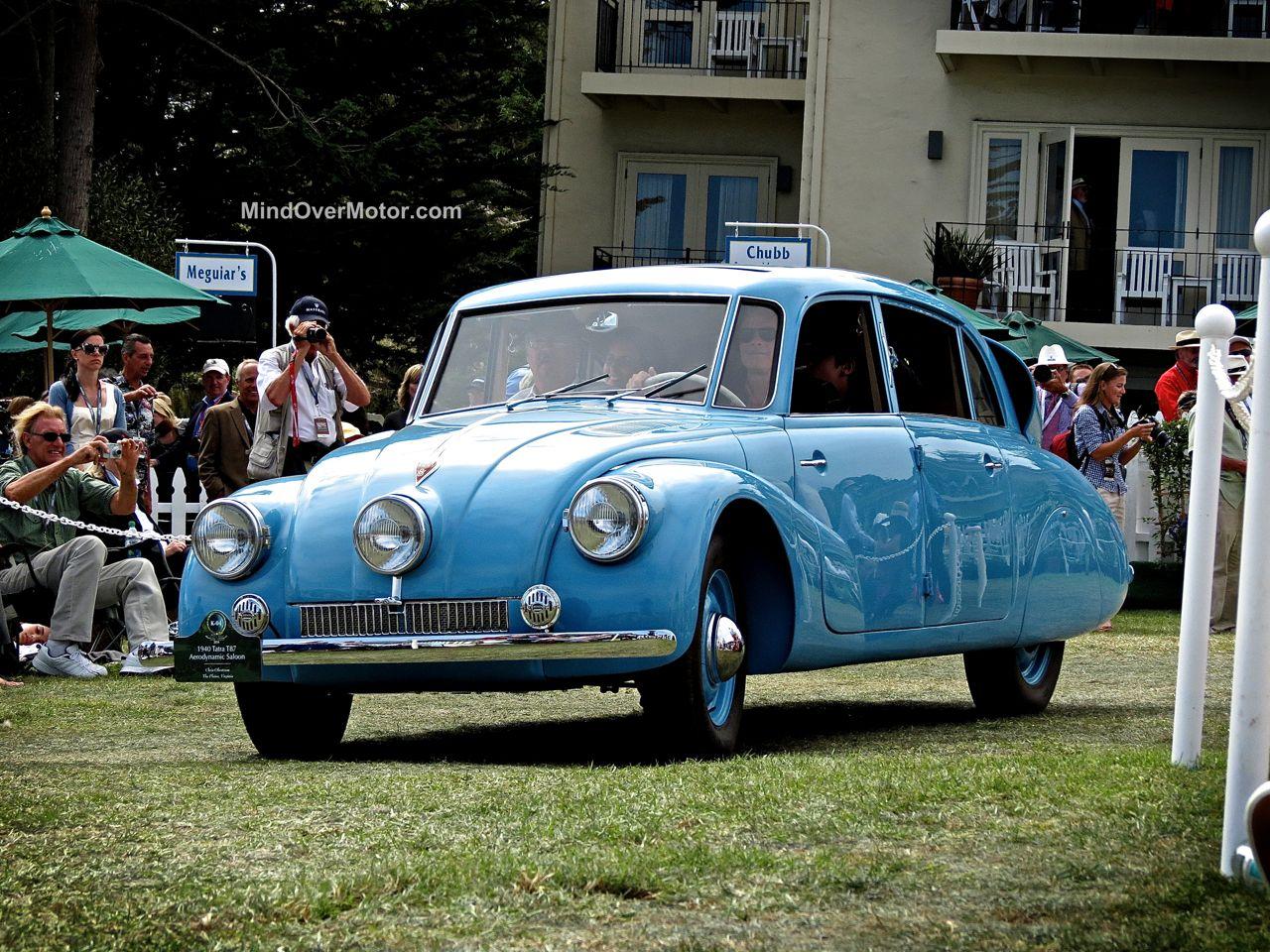 Pebble Beach 2014 Tatra T87