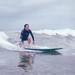 Neeta surfing San Clemente