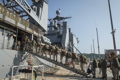 USS Germantown Embarks 31st MEU